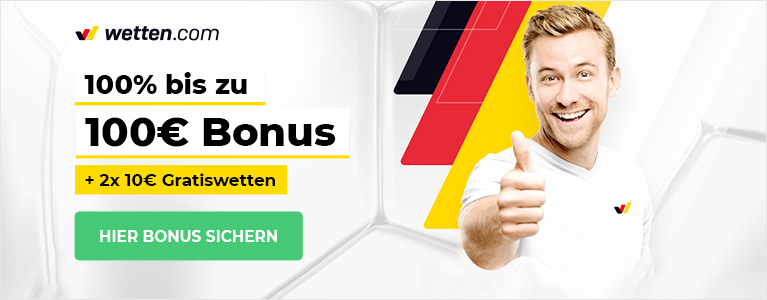 Wetten.com 150 Euro Bonus