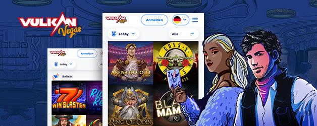 Vulkan Vegas Handy-Version