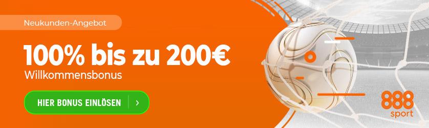 Exklusiver 888 Sport Bonus