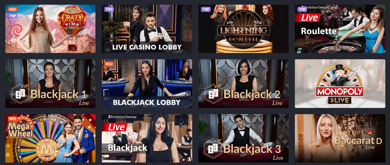 JooBet Live Casino