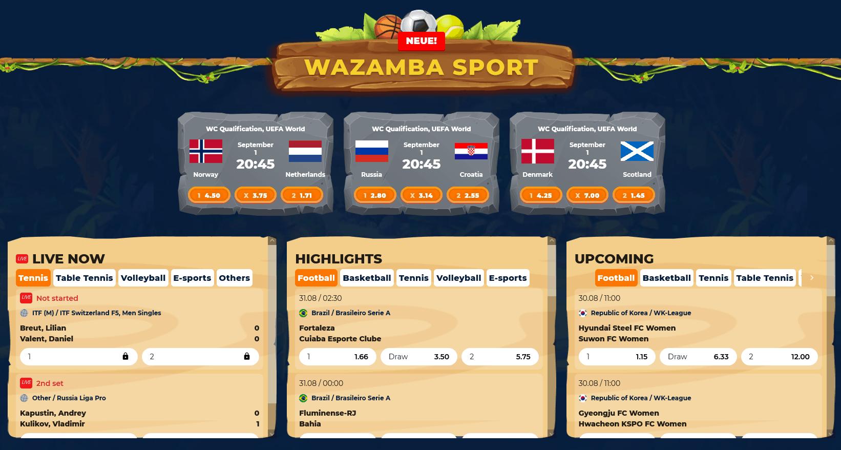 Wazamba Sport